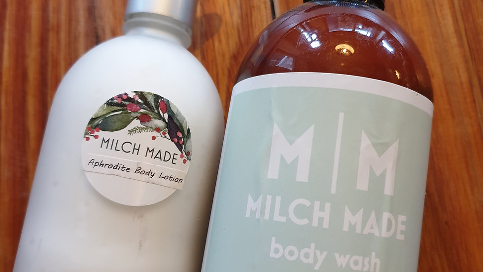 LimitedEdition: Twin pack Aphrodite body wash and body lotion