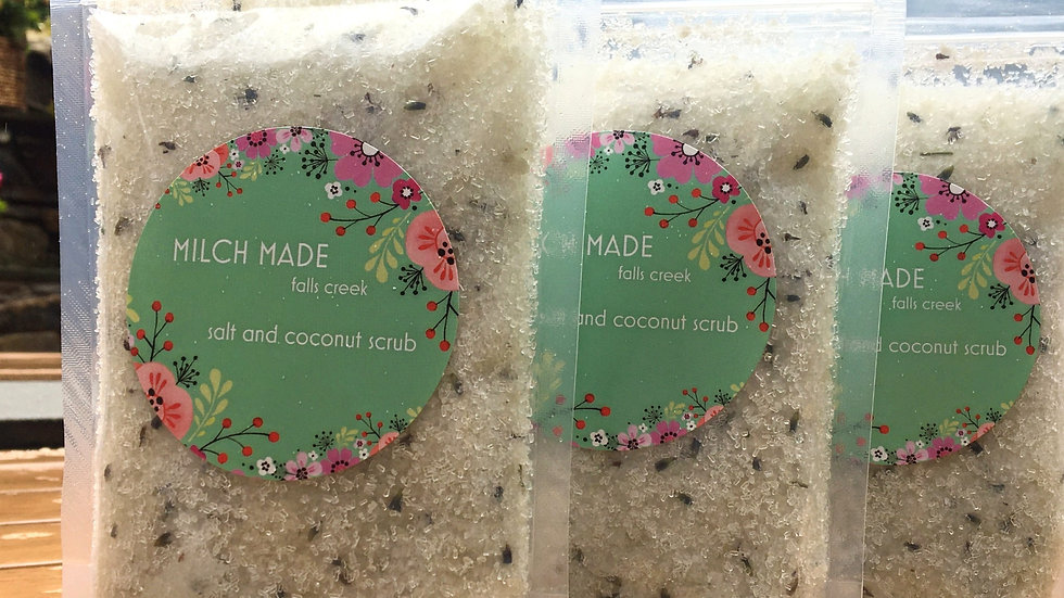 Salt and Coconut Body Scrub  250G
