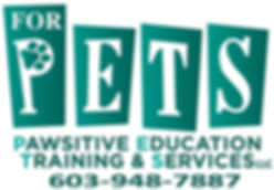 For P.E.T.S. Pawsitive Education, Training & Services, LLC, logo