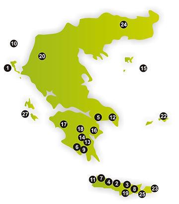 PDO a PGI oblasti v řecku