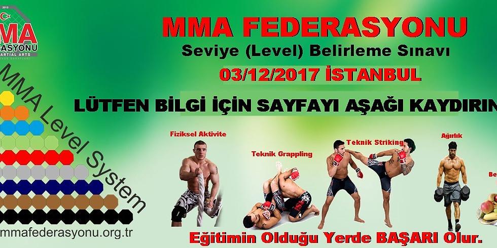 MMA Level sınavı