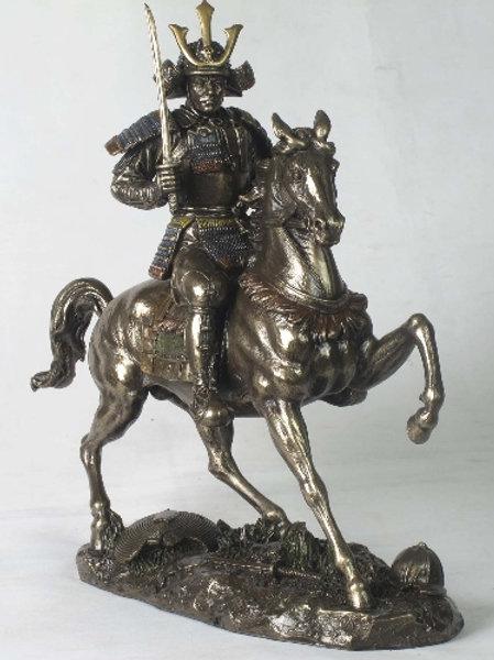 Bronz Samurai Biblo