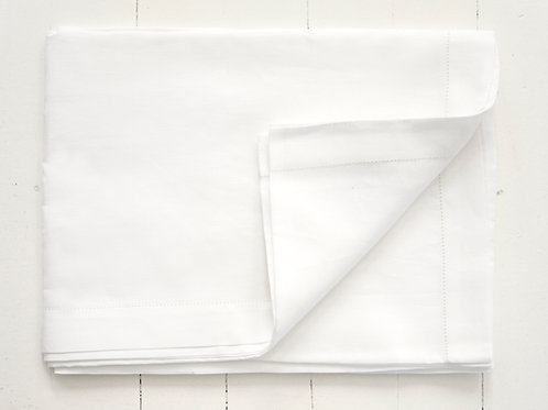 TABLE RUNNER LINEN HEMSTITCHED