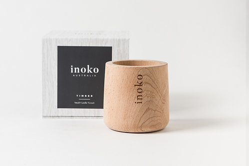 TIMBER SMALL CANDLE VESSEL by INOKO