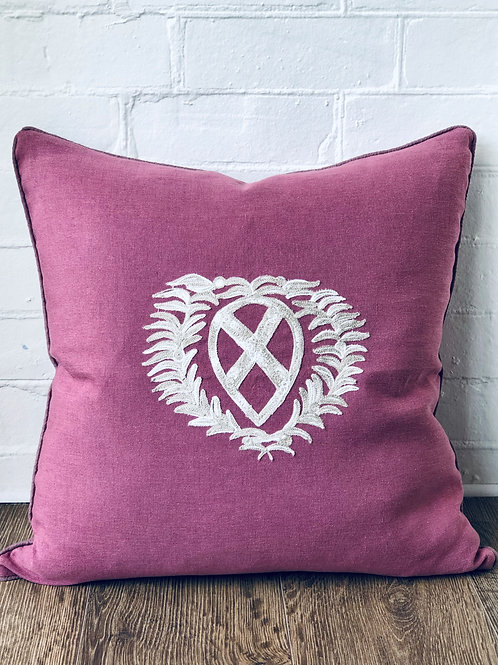 BUSATTI EMBLEM THROW CUSHION