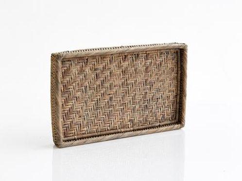 RATTAN BED SIDE TRAY