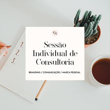 Sessão Individual de Consultoria
