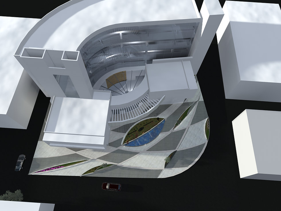 Vista Isométrica Hospital