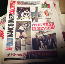 On the cover of _vancouriernews #2018 ye