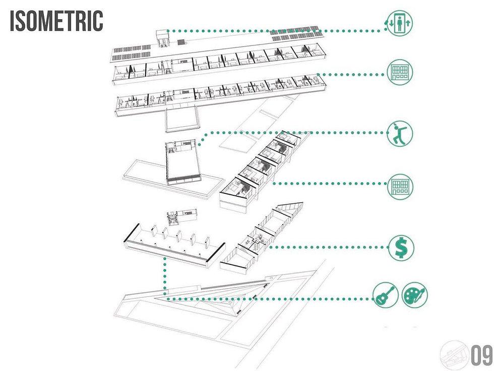 Isométrico Edificio