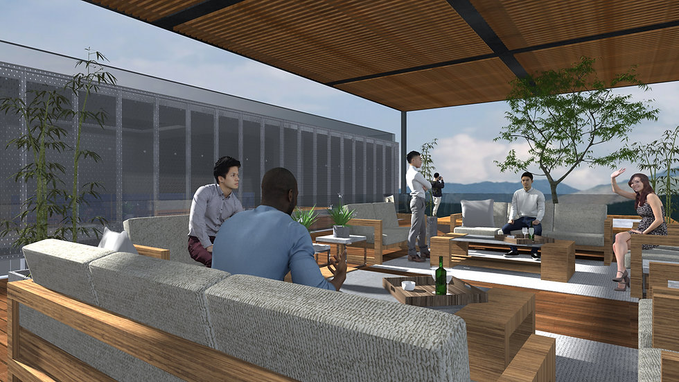 Render Sky Lounge