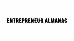 Entrepreneur Almanac