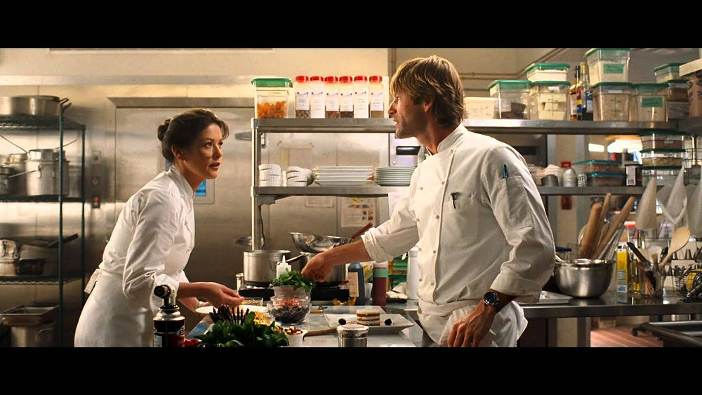 Scene from No Reservations