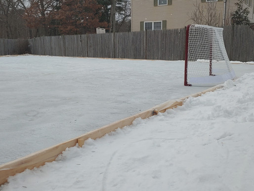 Lessons from Building a Hockey Rink