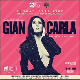 CLEF STAGE PRESENTS: GIAN-CARLA AT ALOFT HOTEL QUEENS