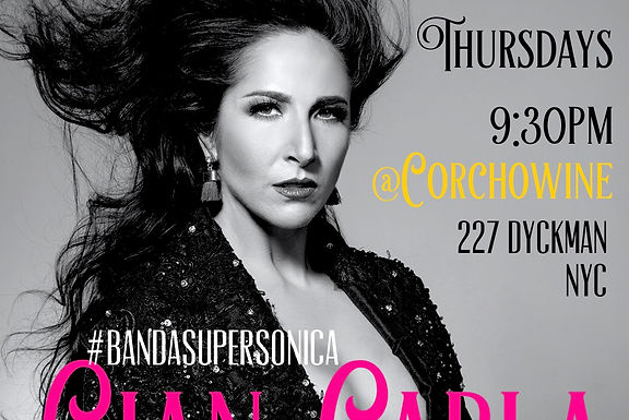 EVERY THURSDAY IN 2018   10PM & 11:30PM   BANDA SUPERSONICA