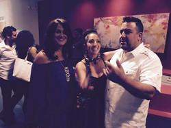 With Dulce and Sergio Dovarro