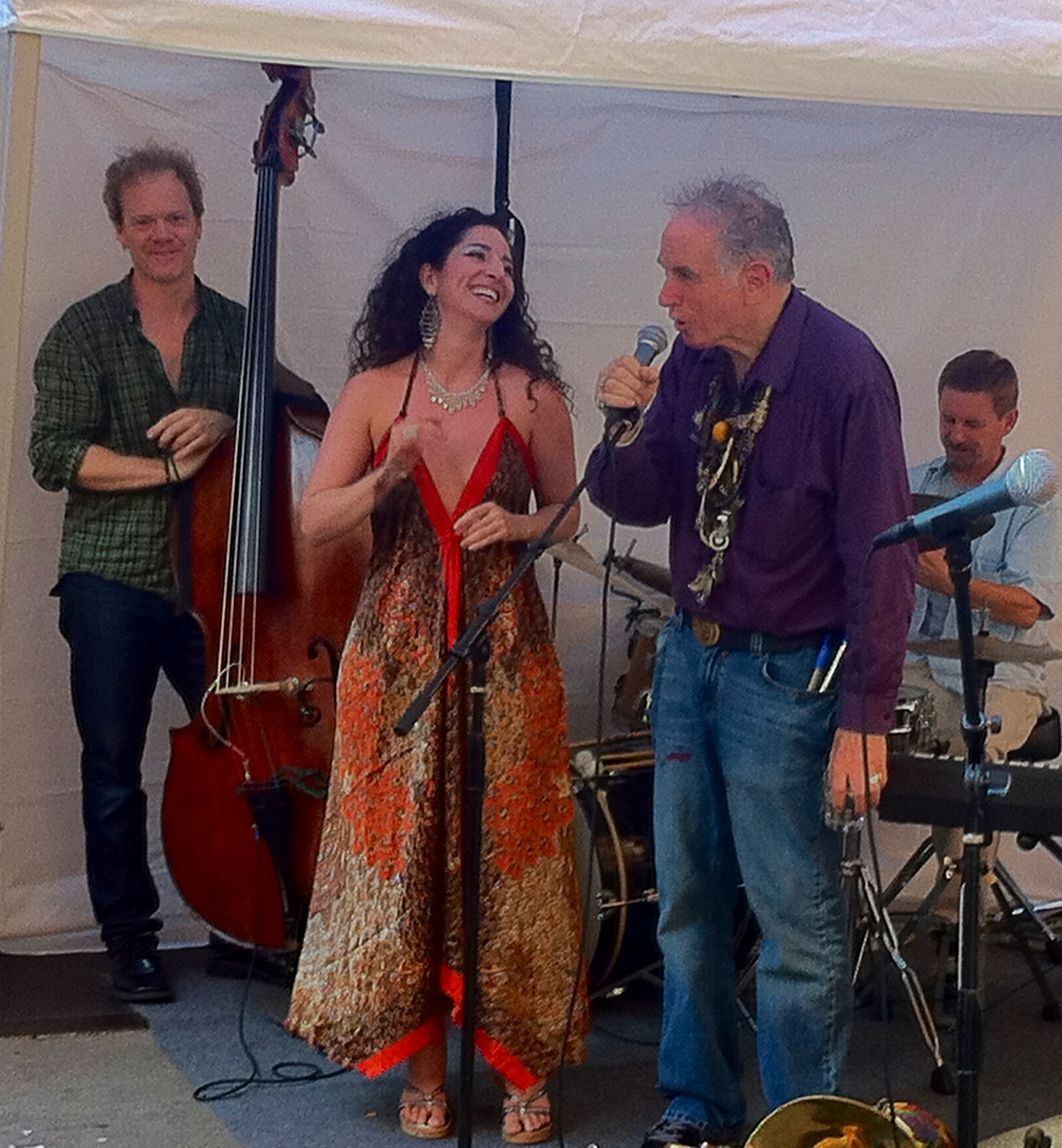 Singing with David Amram