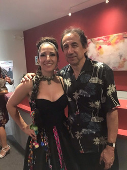 With Guillermo Guzman