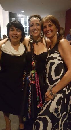 With Maria Consuelo Vargas