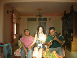 With Bonny Alberto Teran