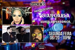 GIAN-CARLA + BANDA SUPERSONICA | 10PM | VIVO TAPAS LOUNGE