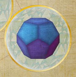 Metatron's Cube Artwork VII, artwork by LOSTefx.com