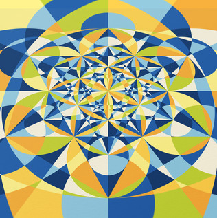 Metatron's Cube Artwork II, artwork by LOSTefx.com