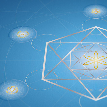 Metatron's Cube Artwork I, artwork by LOSTefx.com