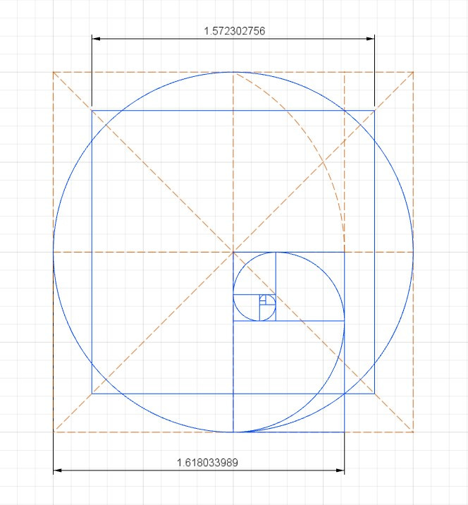 Phi squares the circle
