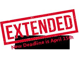 Scholarship Application Deadline Extended