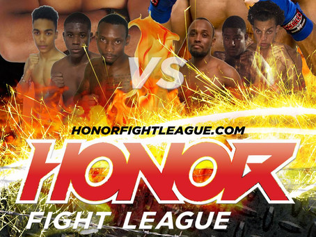 Upcoming event: Honor Fight League