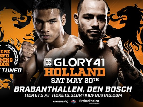 Upcoming event: Glory 41 - Den Bosch