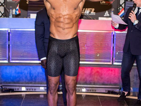Pictures: Weigh-in World Fighting League