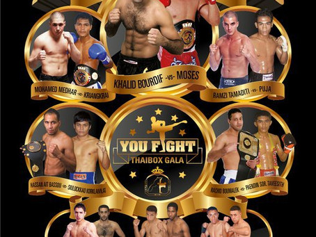 YOU FIGHT PRESENTS MAROKKO VS THAILAND