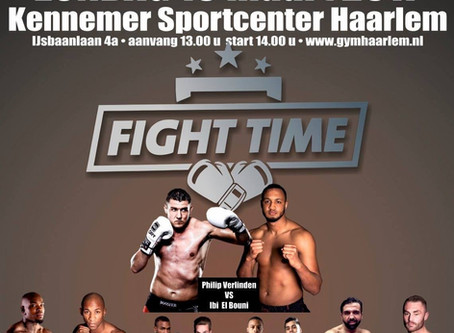 Upcoming event: Fight Time