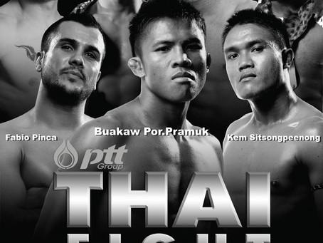 Bangkok 25-9 Thai Fight Extreme met Mosab Amrani en Hafid el Boustati