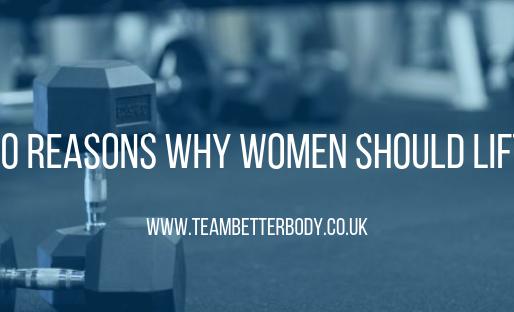 10 reasons why women should lift