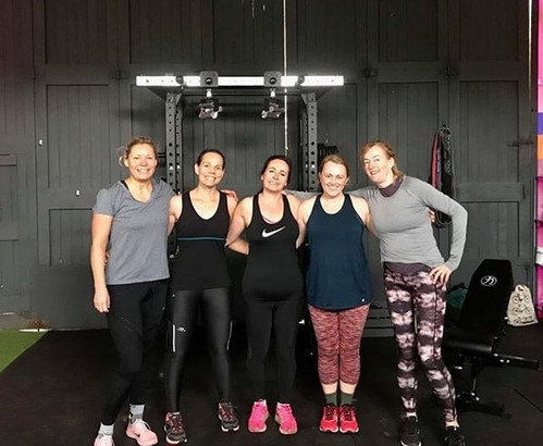 The_ladies_at_HQ_this_morning_smashed_to
