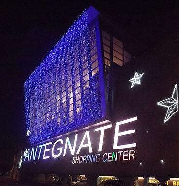 Luminarie centro commerciale