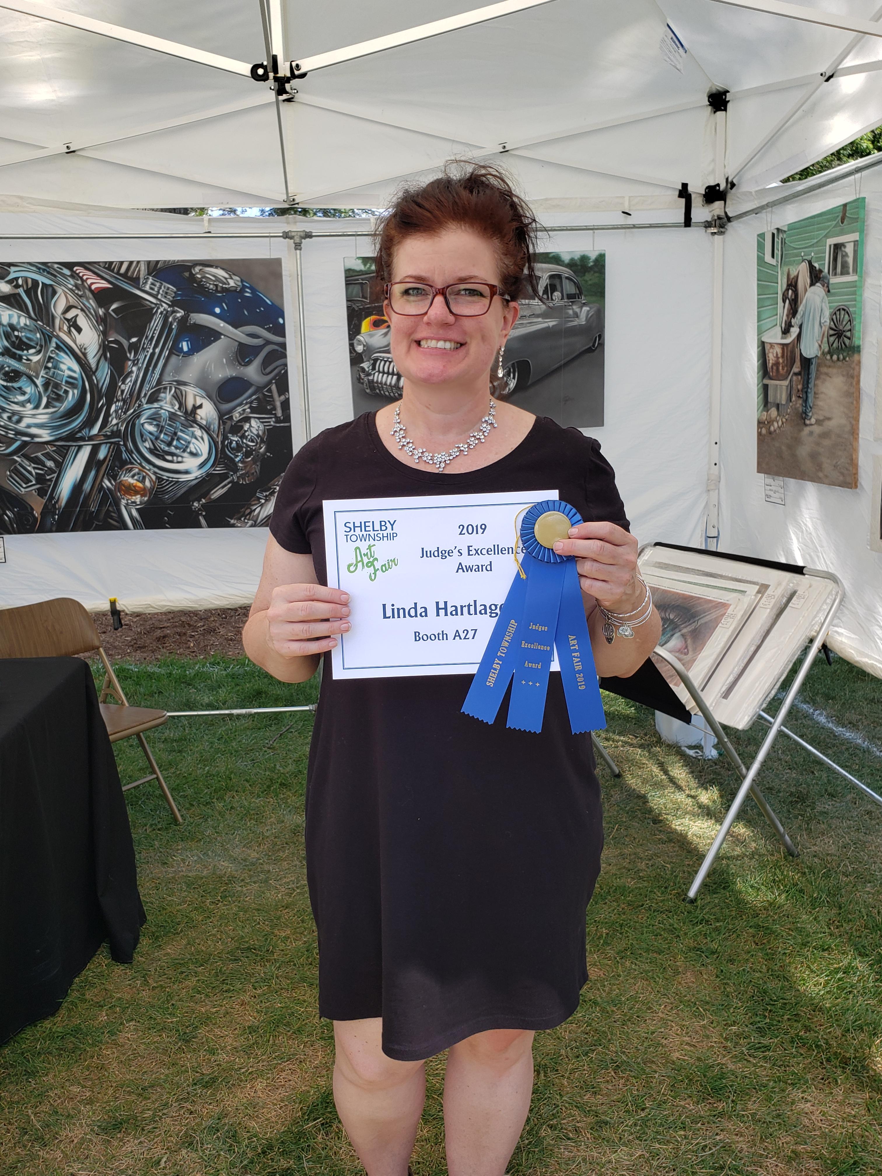 Excellence Award - Linda Hartlage