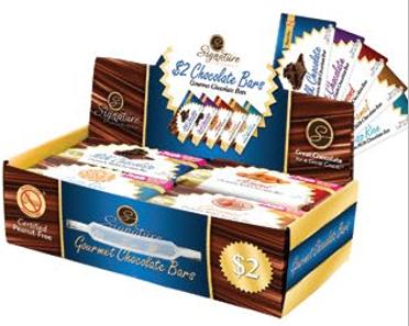 $2 Signature Gourmet Chocolate Bar