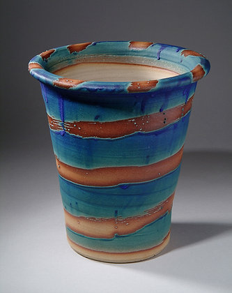 Blue Spiral Pots