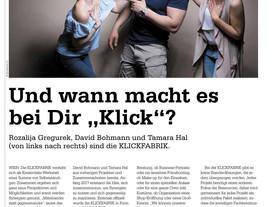 Wir sind in der Zeitung :)
