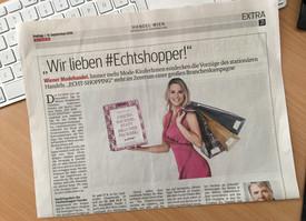 Werbekampagne #Echtshopper