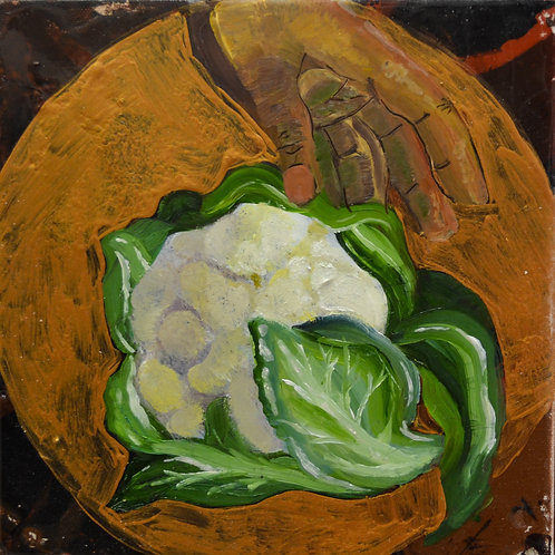 """Cauliflower"" Print"