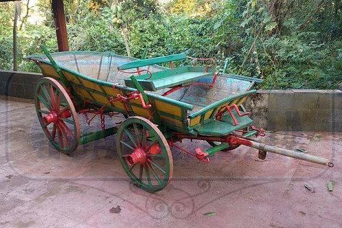 Carroça holandesa em madeira 2,70 x 1,50m.