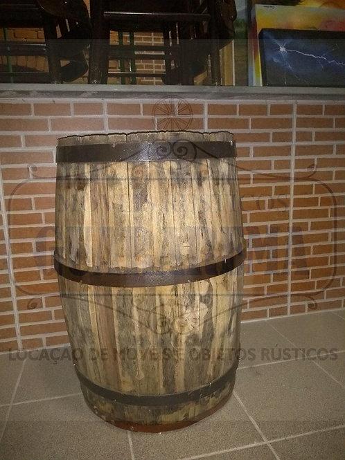Barril de madeira 100 litros.