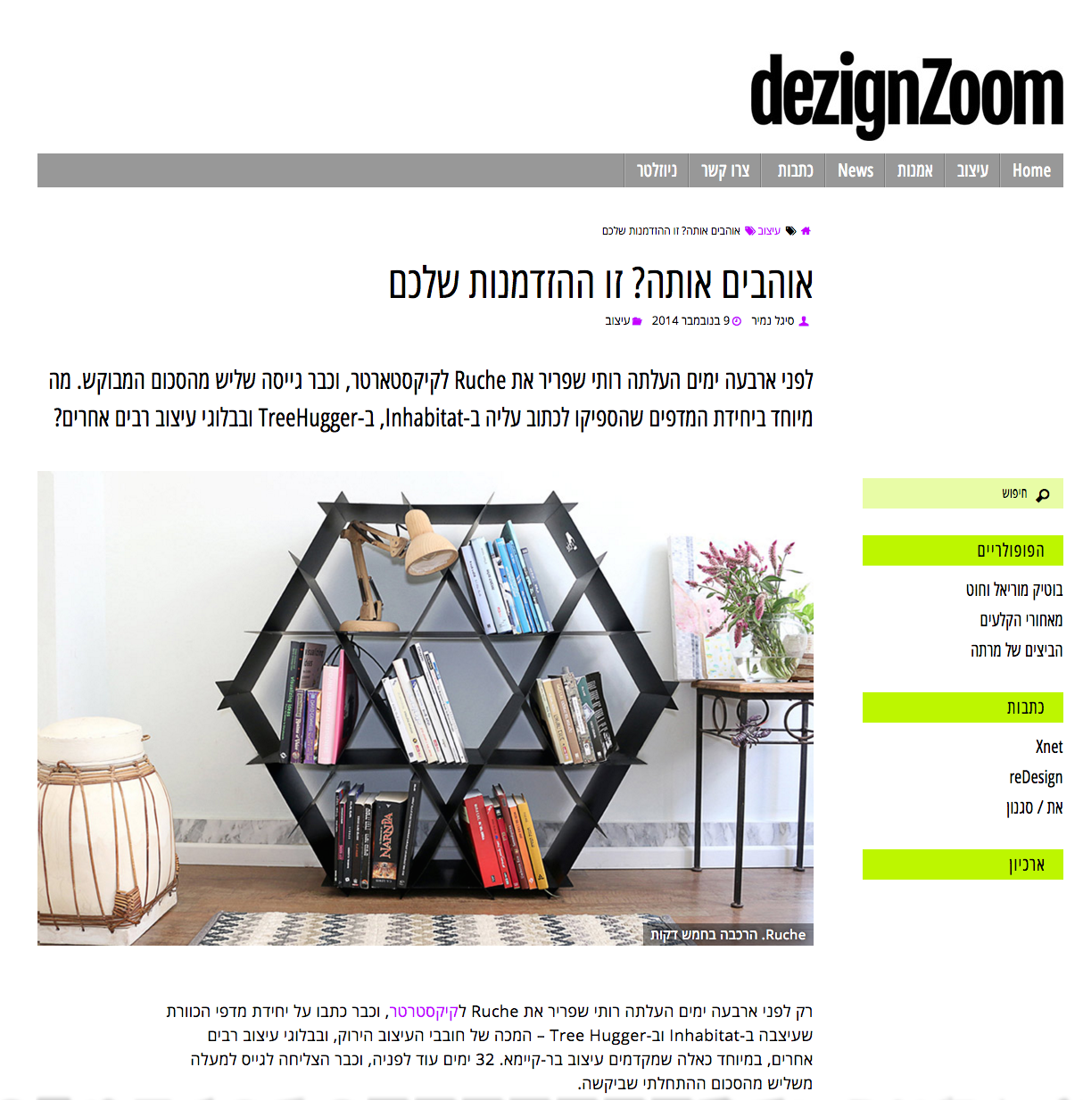 ruche shelving design zoom
