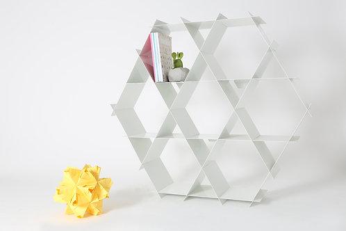 Large Aluminum Ruche - Soft white